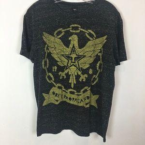 Obey Propaganda tee shirt black size L